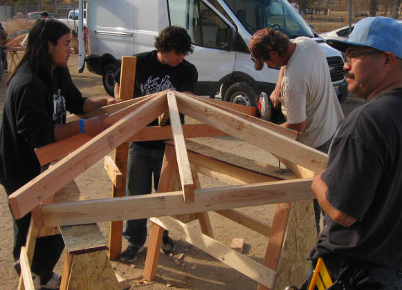 Hands-on Rough Framing and Shingle Roofing - Training Services ...